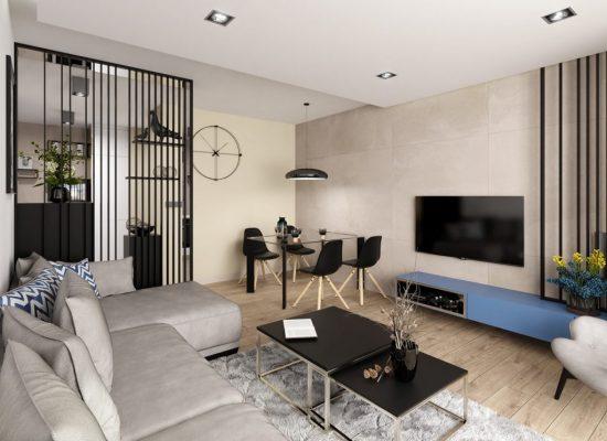 Návrh obývacej izby